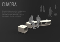 CUADRA urban seating Dubai -ensemble