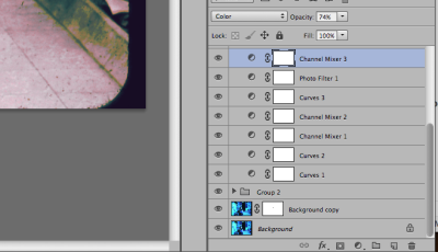 Photoshop layers screenshot